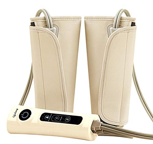 Lifelong-LLM18-Air-Pressure-Massager-for-blood-circulation-and-pain-relief-of-Arms-Leg-Calf-and-Foot-Brown