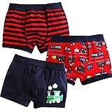 Jojobaby Baby Toddler Kids 2T-7T Boys Boxer Brief 3-Pack Underwear Set 100cm 3T