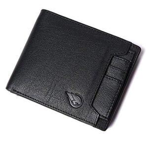 Ruge Genuine Leather RFID Blocking Men's Wallet - Antique Brown 7