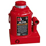 Torin Big Red Hydraulic Bottle Jack, 30 Ton Capacity