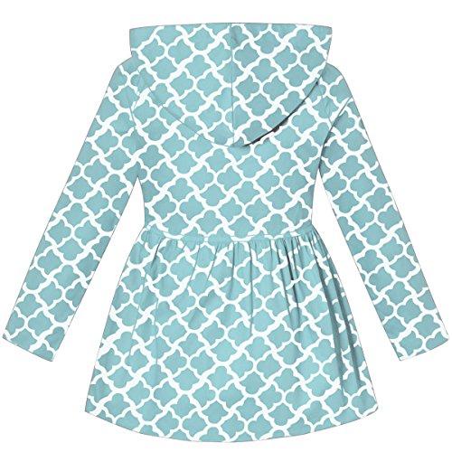 715fe9b11ddbe BINPAW Girl s Hooded Trench Coat - www.hagerstore.com