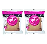 Product review for Hario 02 100-Count Coffee Natural Paper Filters, 2-Pack Value Set (Total of 200 Sheets)