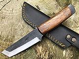 Perkin PK800 Hunting Knife with Sheath Fixed Blade Knife
