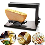 Li Bai Raclette Cheese Melter Machine Commercial Electric For Half Nacho Cheese Wheel Multi-Function Angle Adjustable 650W Rapid Heating(750A)