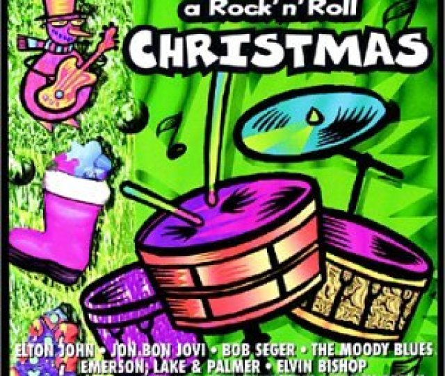 Various A Rock N Roll Christmas Amazon Com Music