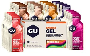 GU Original Sports Nutrition Energy Gel, Assorted Classic Flavors, 24-Count