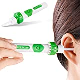 SEDETER New Upgrade Electric Massage Ear Wax Removal Kit Soft Ear Wax Cleaner /Ear-pick/Curette