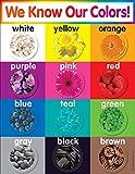 Scholastic TF2503 Colors Chart