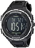Timex Men's T49950 Expedition Shock XL Vibrating Alarm Black Resin Strap Watch