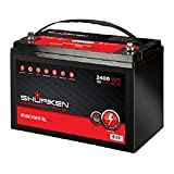 Shuriken SK-BT120 12-Volt High Performance AGM Power Cell Battery for Systems Up To 2400-Watts