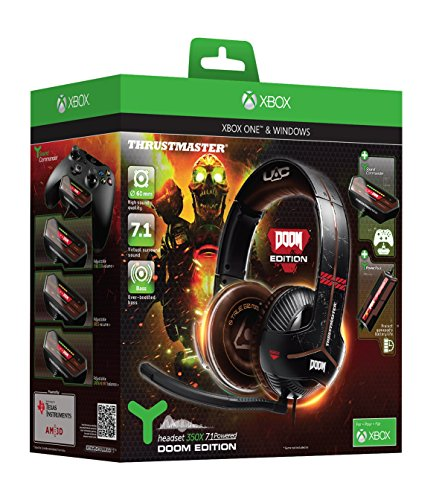 51PMc5xiOOL - Thrustmaster Y-350X 7.1 Powered Doom Edition Gaming Headset (Xbox One/PC DVD)
