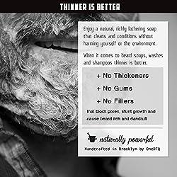 Medicine Man's Itchy Beard Wash 4,7 FL OZ - 100% Natural & Organic  Image 4