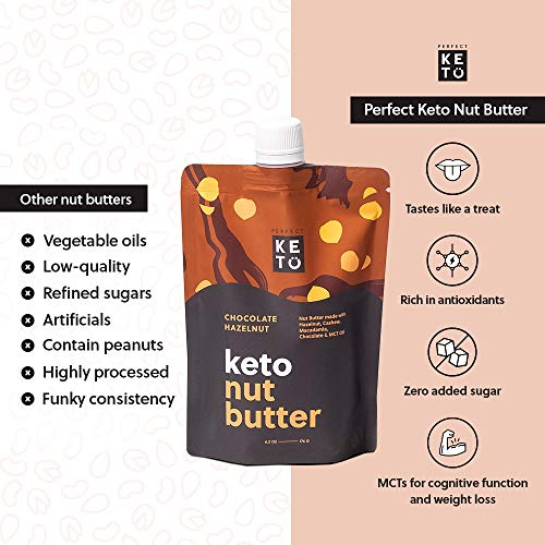 Perfect Keto Nut Butter Snack: Fat Bomb to Support Weight Management on Ketogenic Diet. Ketosis Superfood Raw Nuts|Cashew Macadamia Coconut Vanilla Sea Salt 2