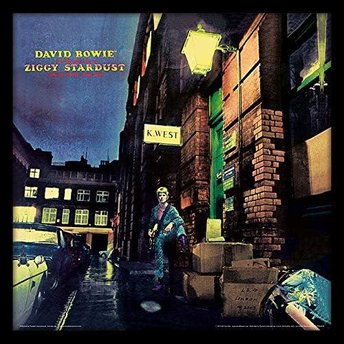 David Bowie ACPPR48158-PL (Ziggy Stardust) Objet Souvenir, Bois Dense, Multicolore, 31,5 x 31,5 cm: Amazon.fr: Cuisine & Maison
