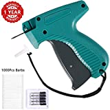Price Tag Gun, Standard Attacher Tagging Gun for Clothing Clothes Labeler with 6 Needles & 1000pcs Barbs Fasteners & Organizer Bag