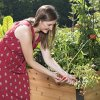 Gardeners-Supply-2-Ft-x-8-Ft-Raised-Garden-Bed-Elevated-Cedar-Planter-Box-Standing-Garden-24-x-96