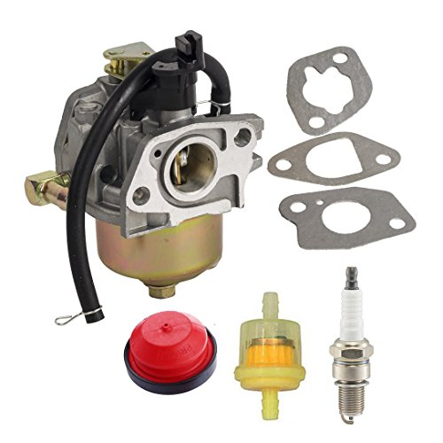 HIFROM Carburetor With Fuel Filter Primer Bulb for MTD Club Cadet Troy Bilt Snow Blower Replace 951-10974 951-12705 951-14023A 951-11303A