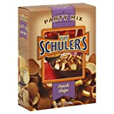 Win Schuler Party Mix Schips, 7-Ounce Boxes (Pack of 12)
