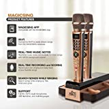 2018 Magic Sing E5 WiFi Two Wireless Karaoke Mics Free 12K English songs & 1 Year Subscription for 220,000 songs: Tagalog Hindi Spanish Korean Chinese Japanese Vietnamese Thai Germany Russian ....
