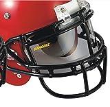 Bangerz HS-9000 - ProVU Flexible Football Eyeshield - Universal Fit for Metal & Plastic Facemasks (Smoke)