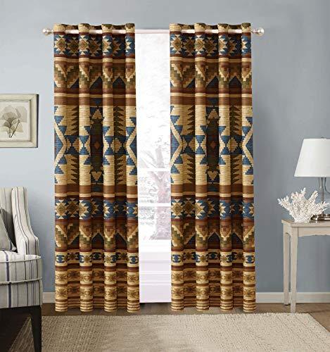 Native American Curtain Set