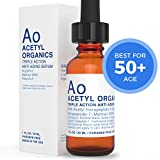 Anti-aging Serum With Argireline (20%), Matrixyl 3000 (20%), Retinyl Acetate (Vitamin A) serum for facial skin. Best Argireline Serum/Cream For Eyes, Wrinkles with Hyaluronic Acid.