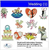 Machine Embroidery Designs - Wedding(1)