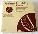 Sunbeam Vista Stainless Steel French Fry Cutter