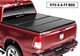 Rugged Liner E-Series Hard Folding Truck Bed Tonneau Cover | EH-F5515 | fits 15-18  Ford F-150 5.5ft., 5'5' bed