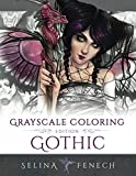 Gothic - Grayscale Edition Coloring Book (Grayscale Coloring Books by Selina)