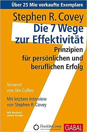 Buch - Die 7 Wege zur Effektivität