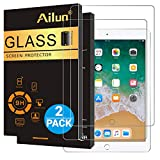 Ailun Screen Protector Compatible with New iPad 9.7' (2018 & 2017) / iPad Pro 9.7 / iPad Air 2 /iPad Air, [2Pack],Tempered Glass,9H Hardness,[Apple Pencil Compatible],Anti-Scratch,Case Friendly