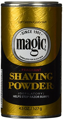 Magic Shaving Powder Gold 4.5 ounce fragrant