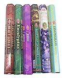 HEM Incense Sticks Best Sellers 6 Boxes X 20 Grams, Variety Pack, Total 120 Gm (#2)