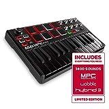 Akai Professional MPK Mini MKII LE Black | Black, Limited Edition 25 Key Portable USB MIDI Keyboard...