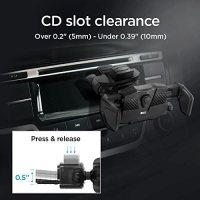 Spigen Kuel TMS24 Tüm Cihazlarla Uyumlu CD Slot Evrensel Araç Tutacağı - 000CG21945 17