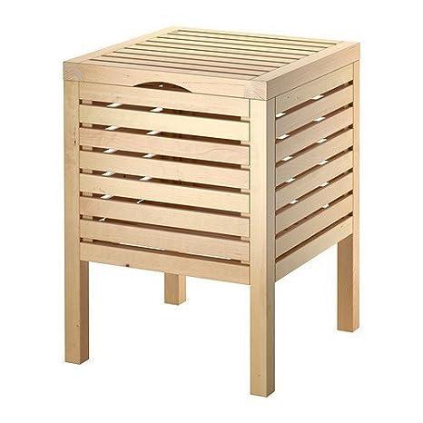 Ikea Sgabello Da Bagno Con Conservazione Molger Betulla