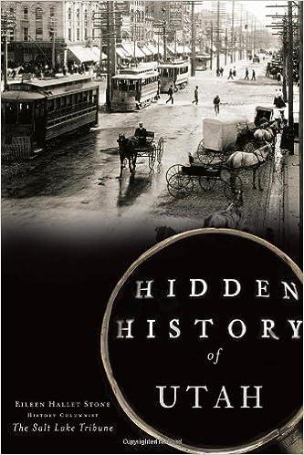 Hidden History of Utah Cover