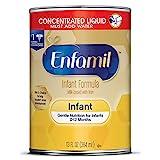 Enfamil Gentle Baby Formula Milk Powder, 21.1 ounce (Pack of 4) - Omega 3, Probiotics, Iron, Immune & Brain Support