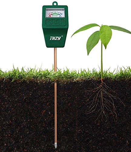 THZY Moisture Meter, Indoor/Outdoor Moisture Sensor Meter,soil water monitor, Hydrometer for gardening, farming