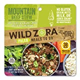 Mountain Beef Stew - Paleo Meals to Go - Freeze Dried, Lightweight, Paleo Meals for Backpacking, Camping, and on the Go