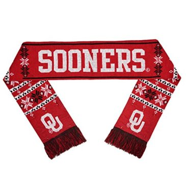 NCAA Oklahoma Sooners Light Up Scarf, One Size, Red