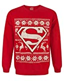 DC Comics Superman Christmas Sweatshirt (S)