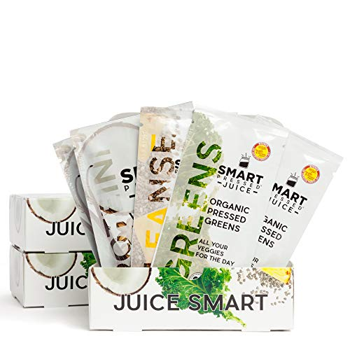 3-Day Organic Juice Cleanse Weight Loss | Smart Pressed Juice | Detox Shake Fat Burner Program | Cold-Pressed Green Juice | Beets Chia Fiber Protein Celery