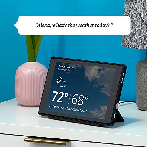 """Fire HD 10 Tablet with Alexa, 10"""" HD Display, 32 GB, Black – with Special Offers + All-New Show Mode Charging Dock"""