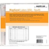 Magellan MapSend Lakes USA, South Freshwater Maps microSD Card