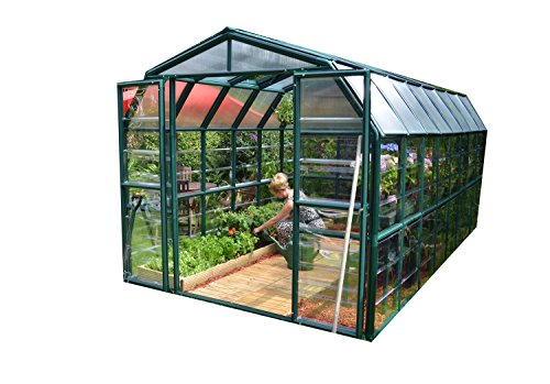 Rion Grand Gardener 2 Clear Greenhouse, 8' x 16'