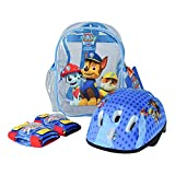Paw Patrol Helmet, Knee Pads, Elbow Pads And Bag Protection Pack Opaw004