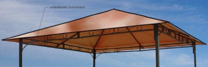 Schutzhaube Abdeckplane Plane Pavillon 3x3 m von Grasekamp