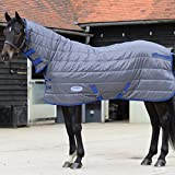 Product review for Weatherbeeta Comfitec Thinsulate Channel Quilt Combo Neck Heavy Grey/Blue 84""